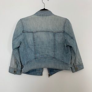 Rubbish Jackets & Coats - Nordstrom Rubbish Cropped Denim Moto Jacket